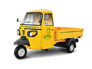 Piaggio Cleaning Vehicle